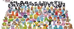 Pokémon Fit, si va a Johto: ecco TUTTA la seconda generazione formato peluche