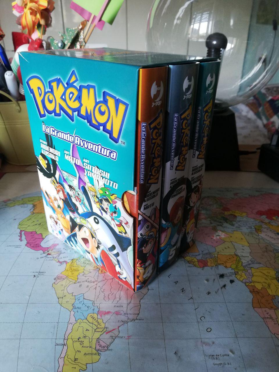 Pokémon: La Grande Avventura - BOX Oro, Argento, Cristallo Johto World