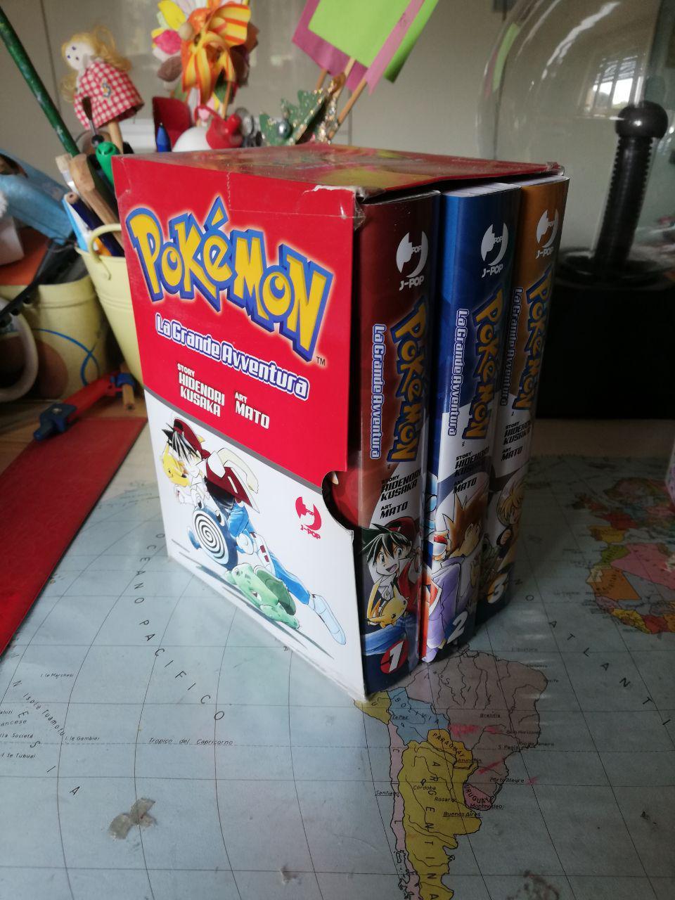 Pokémon: La Grande Avventura - BOX Rosso, Blu, Giallo Johto World