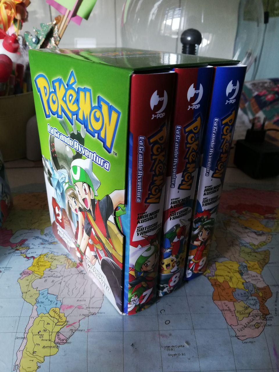 Pokémon: La Grande Avventura - BOX Rubino & Zaffiro Johto World