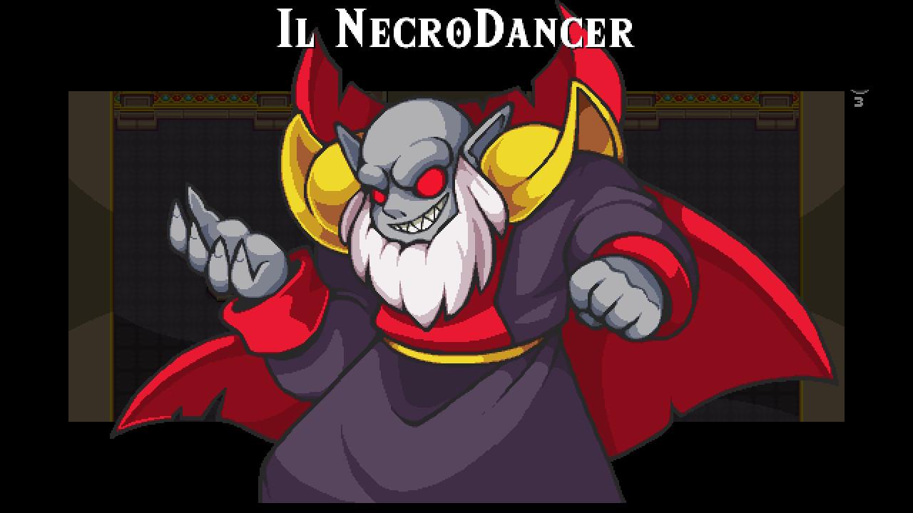 NecroDancer boss finale
