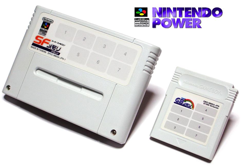 Cartucce SNES e GameBoy Nintendo Power
