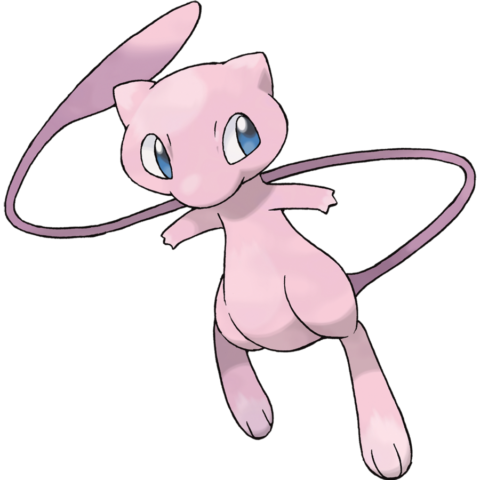 Mew, il primo Pokémon evento, nonché il primo PokémonDLC