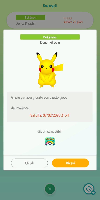 Pokémon HOME doni segreti