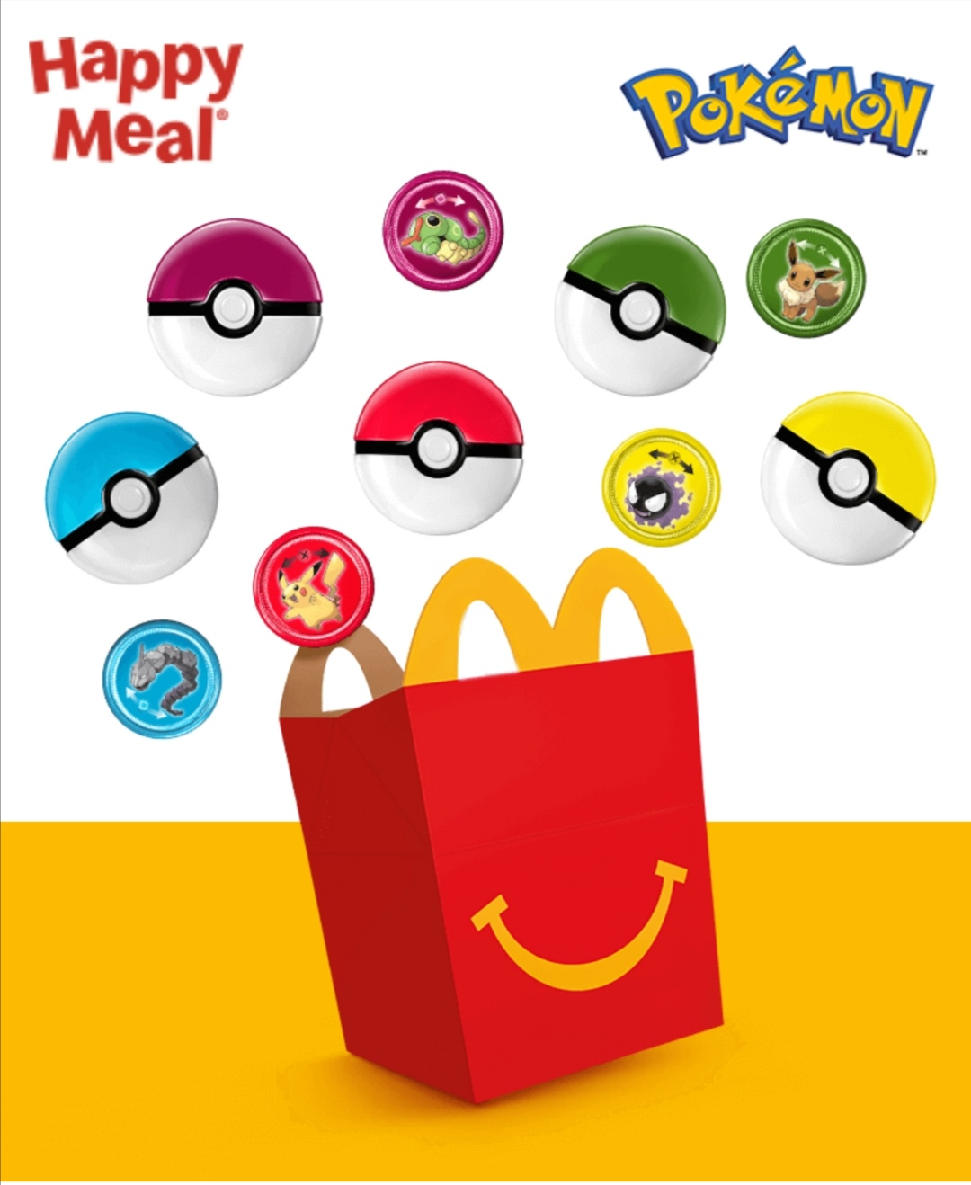 Happy Meal Pokémon 2020