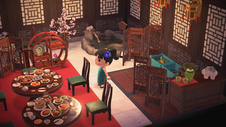 Animal Crossing New Horizons ristorante