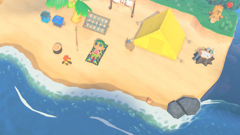 Animal Crossing New Horizons paesaggio