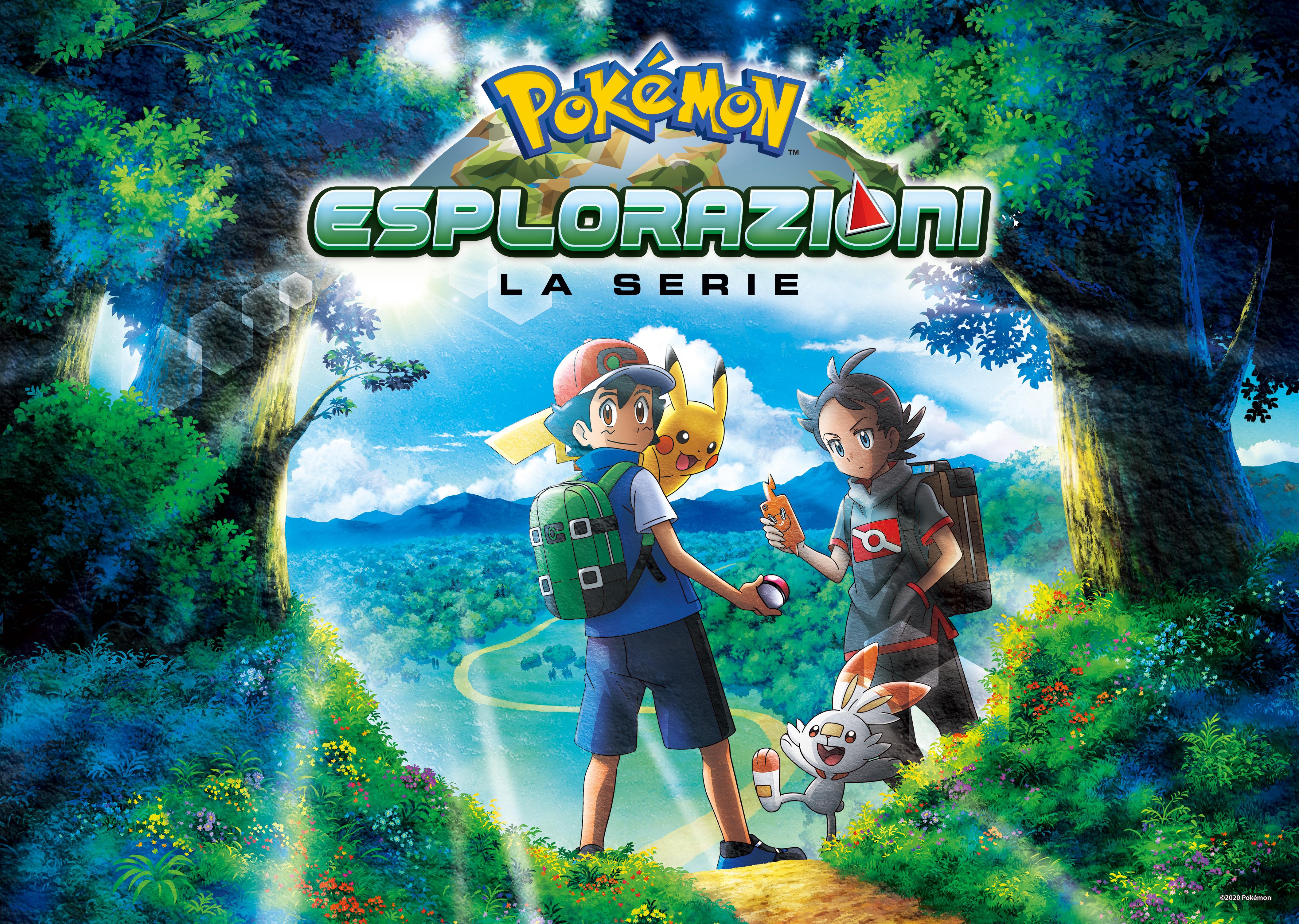 Esplorazioni Pokémon poster