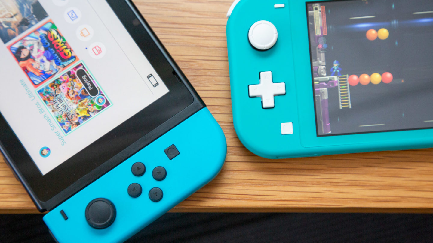 Nintendo Switch normale e Lite
