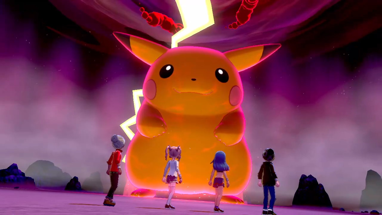 Pikachu Gigamax cromatico