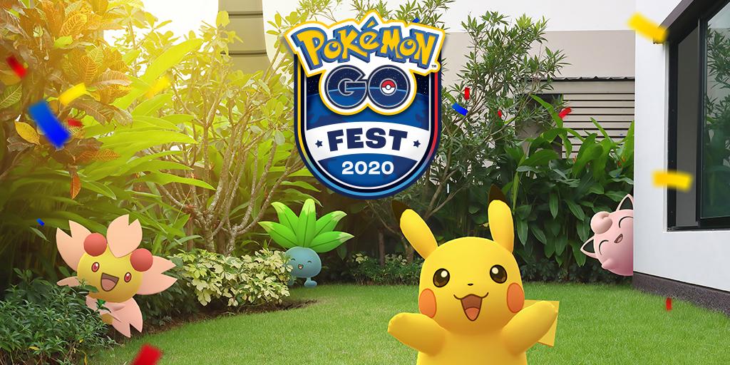 Pokémon GO Fest 2020 locandina