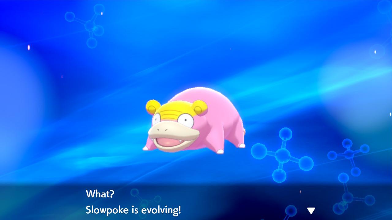 Isola Armatura Slowpoke Galar evoluzione