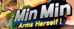Min Min di ARMS arriva su Super Smash Bros. Ultimate