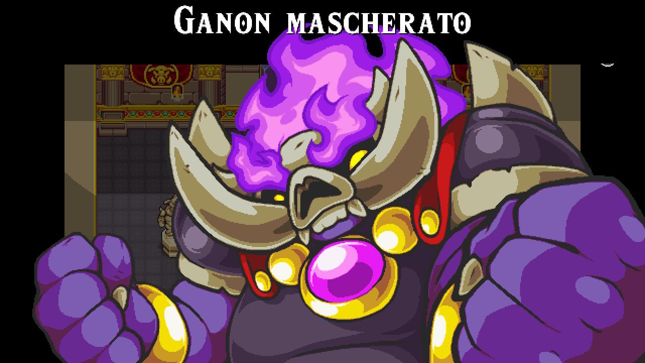 Ganon mascherato La sinfonia della maschera