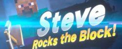 Steve di Minecraft approda su Super Smash Bros. Ultimate