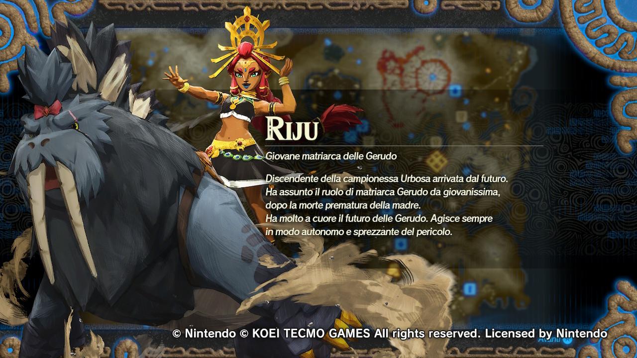 Riju Hyrule warriors