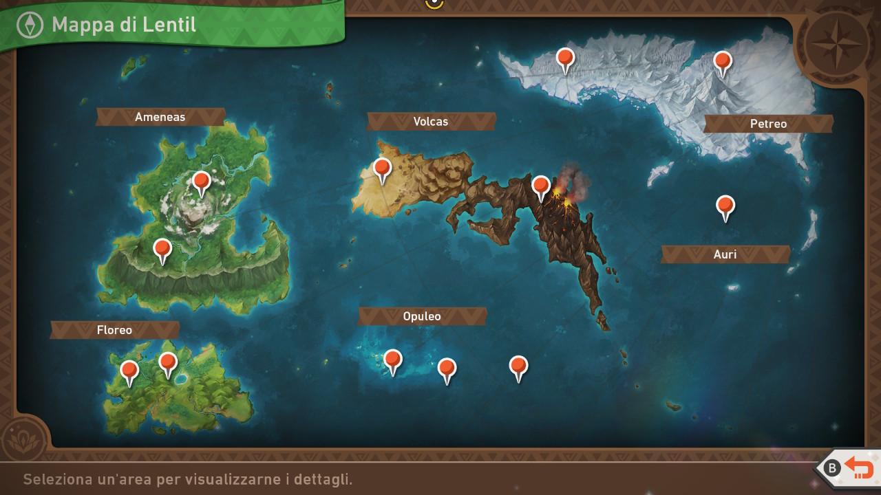 New Pokémon Snap mappa gioco