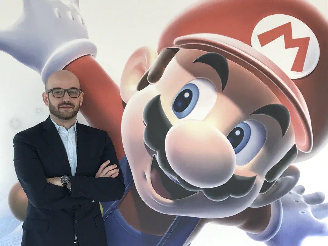 Stefano Calcagni Nintendo Italia
