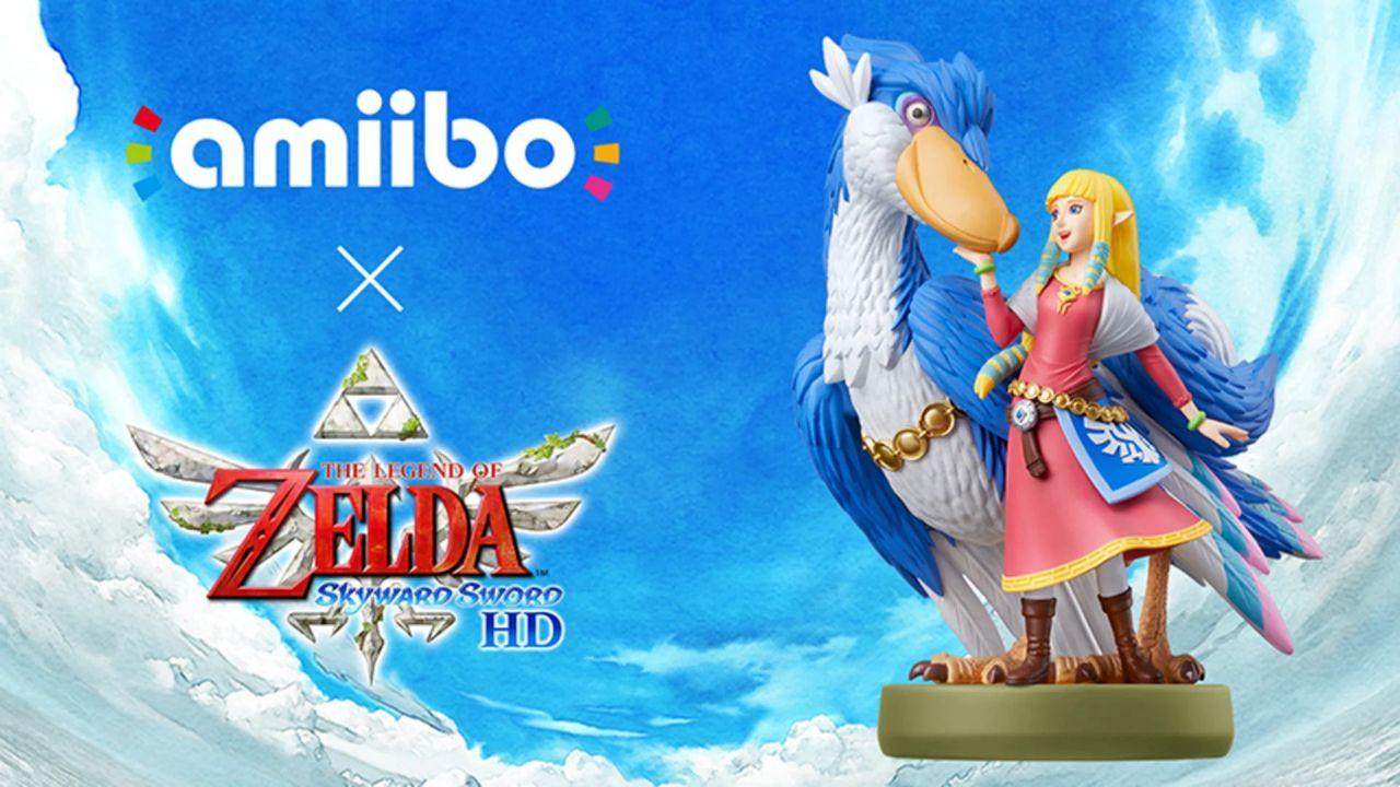 amiibo Zelda e Solcanubi