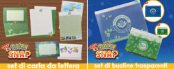 Nuovi premi a tema New Pokémon Snap sul My Nintendo Store