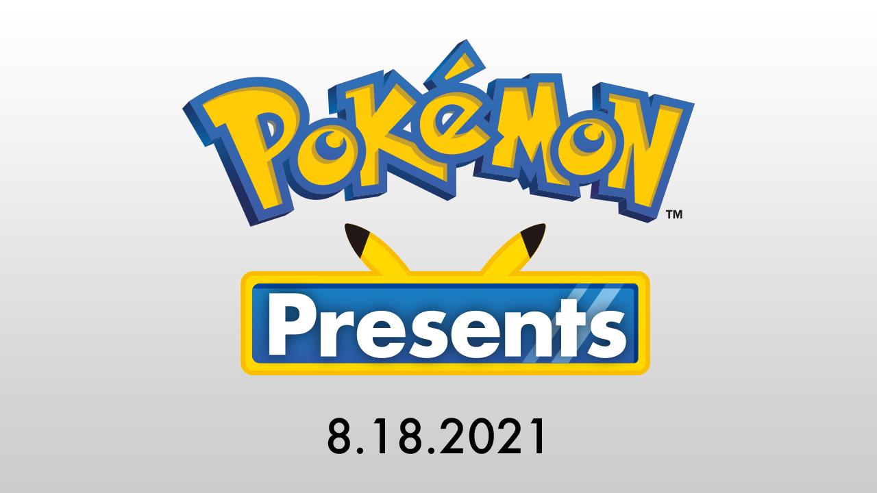 Pokémon Presents 18 agosto 2021