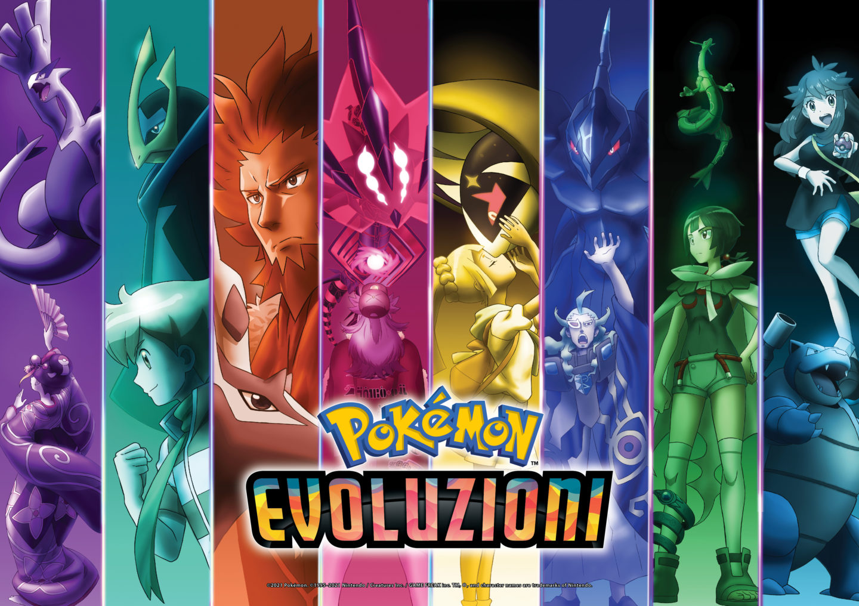 Evoluzioni Pokémon artwork