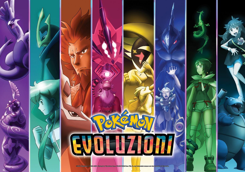 Pokémon Evoluzioni art piccola